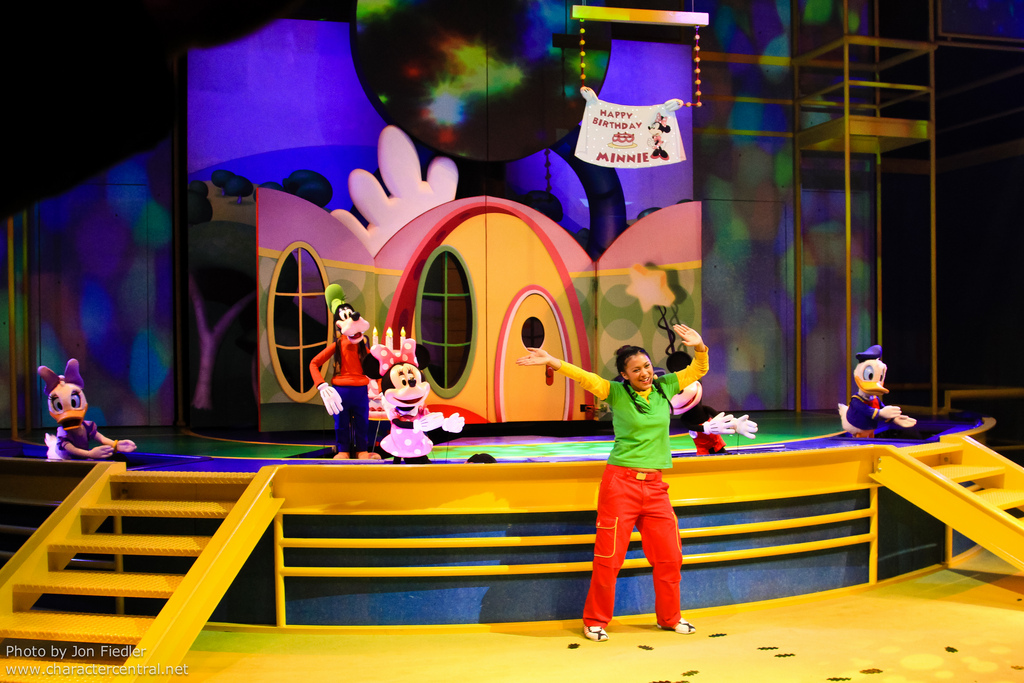Lessons learned from Disney Junior Live on Stage