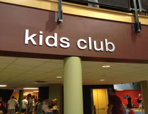 Crossroads kids area