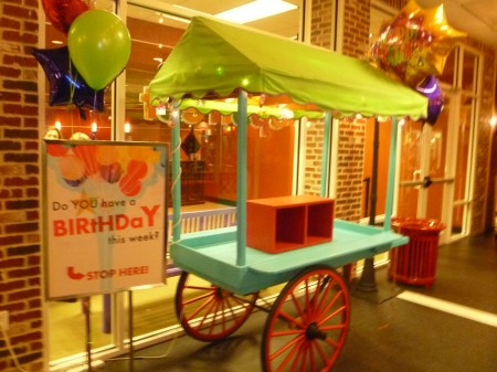 Birthday Cart