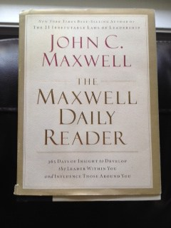 John Maxwell Daily Reader
