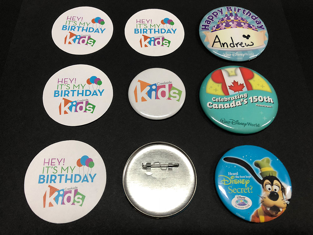 Button Maker Ideas for Kids Ministry