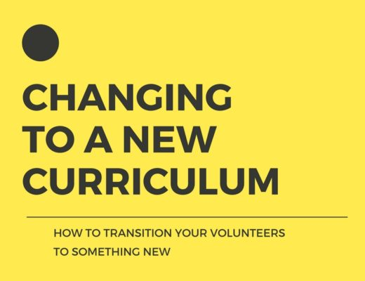 CHANGING TO A NEW CURRICULUM