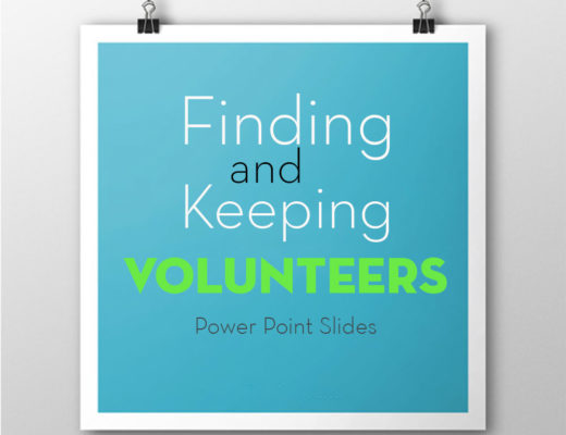 Finding and Keeping Volunteers