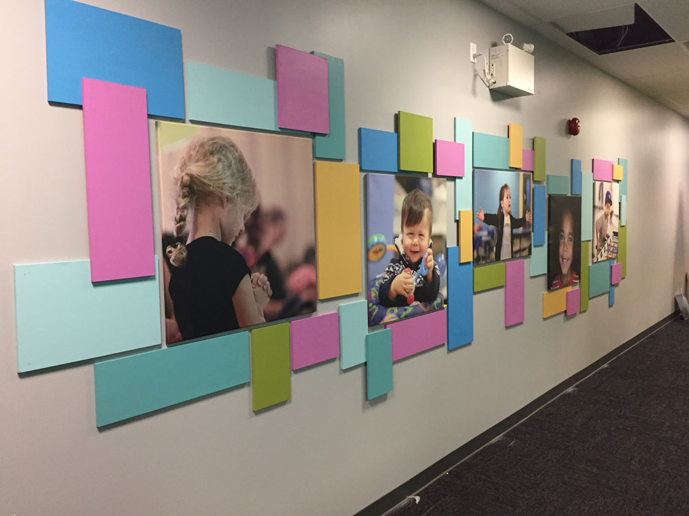 Kids Photo Wall