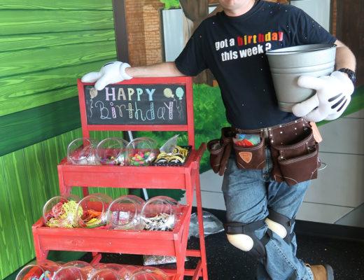 Birthday Volunteer