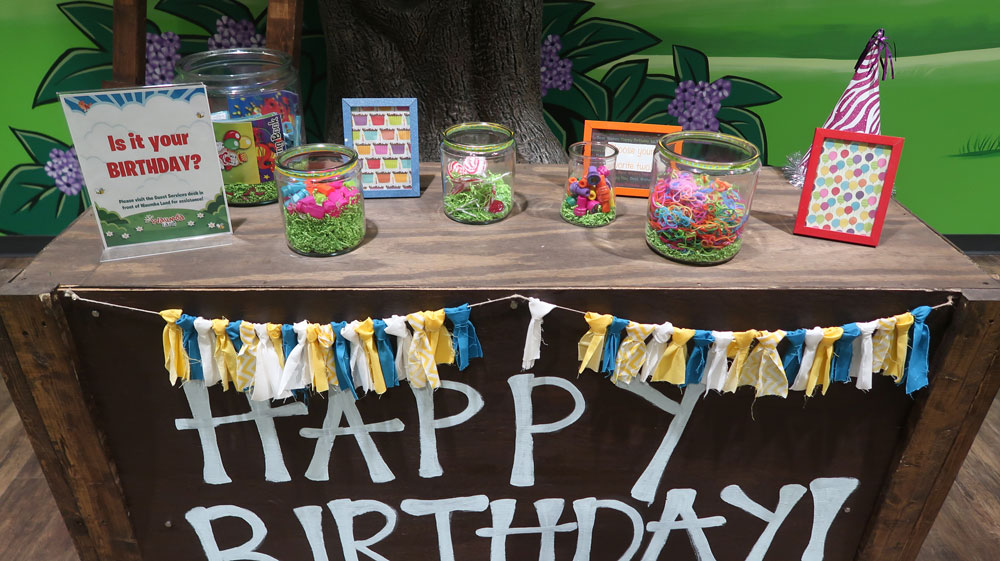 Preschool Birthday Cart