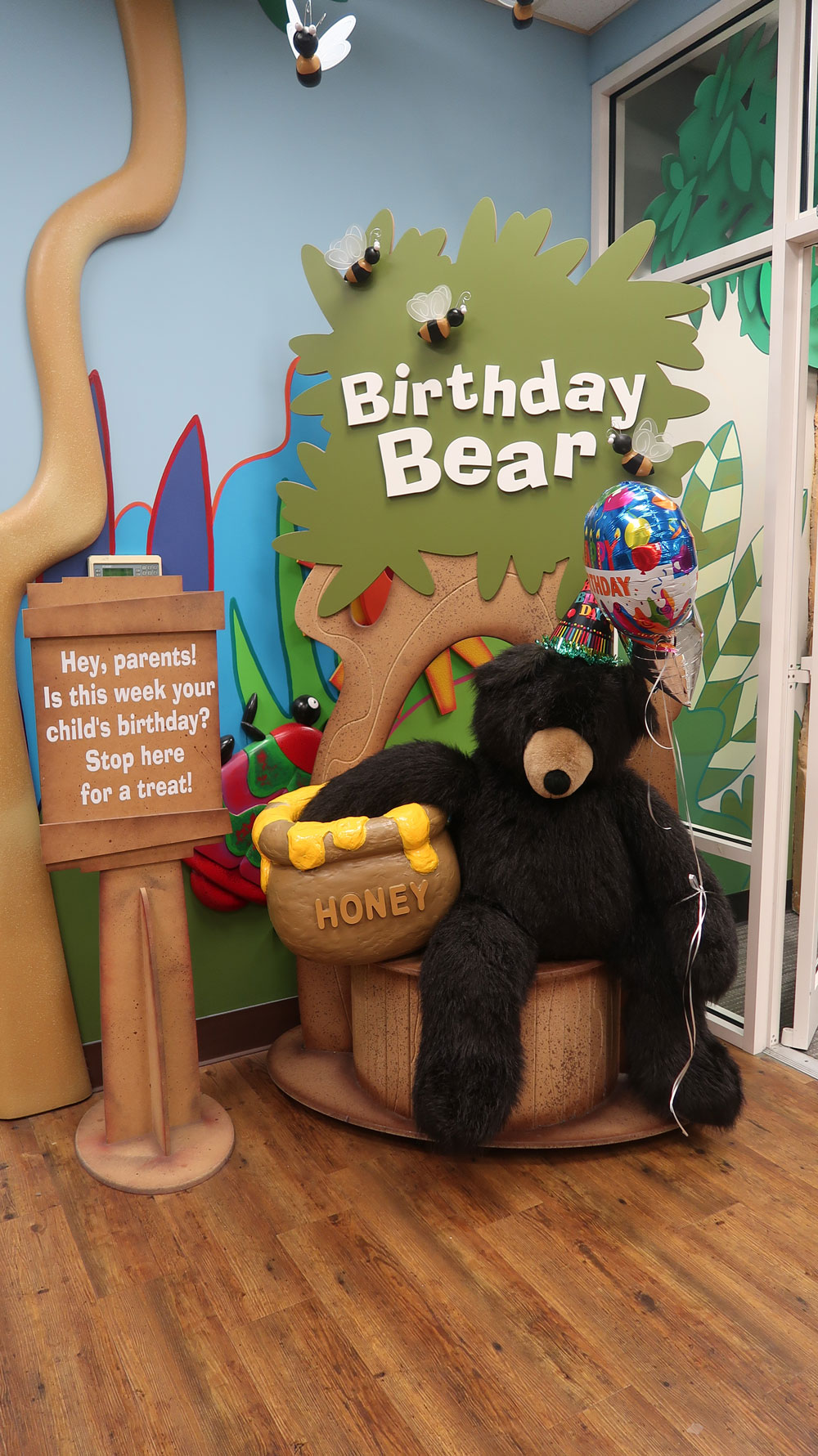 Birthday Bear Display