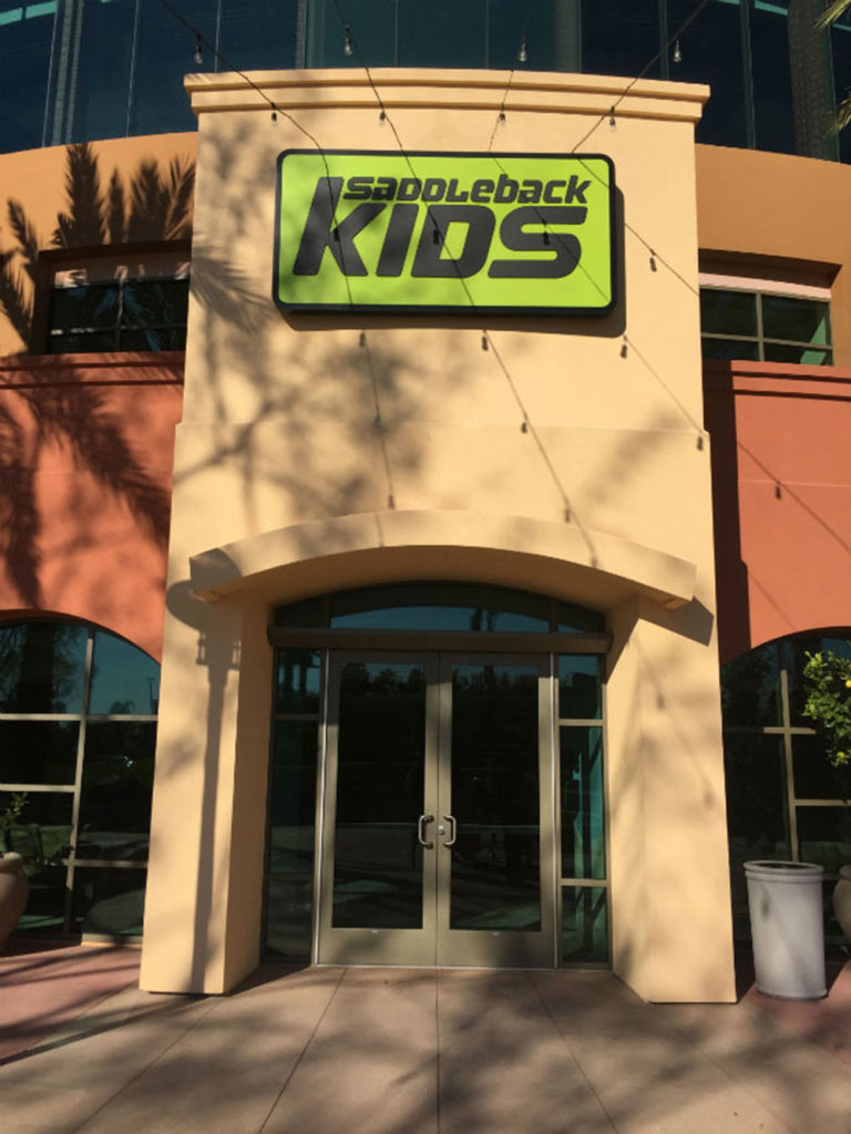 Saddleback Kids Area