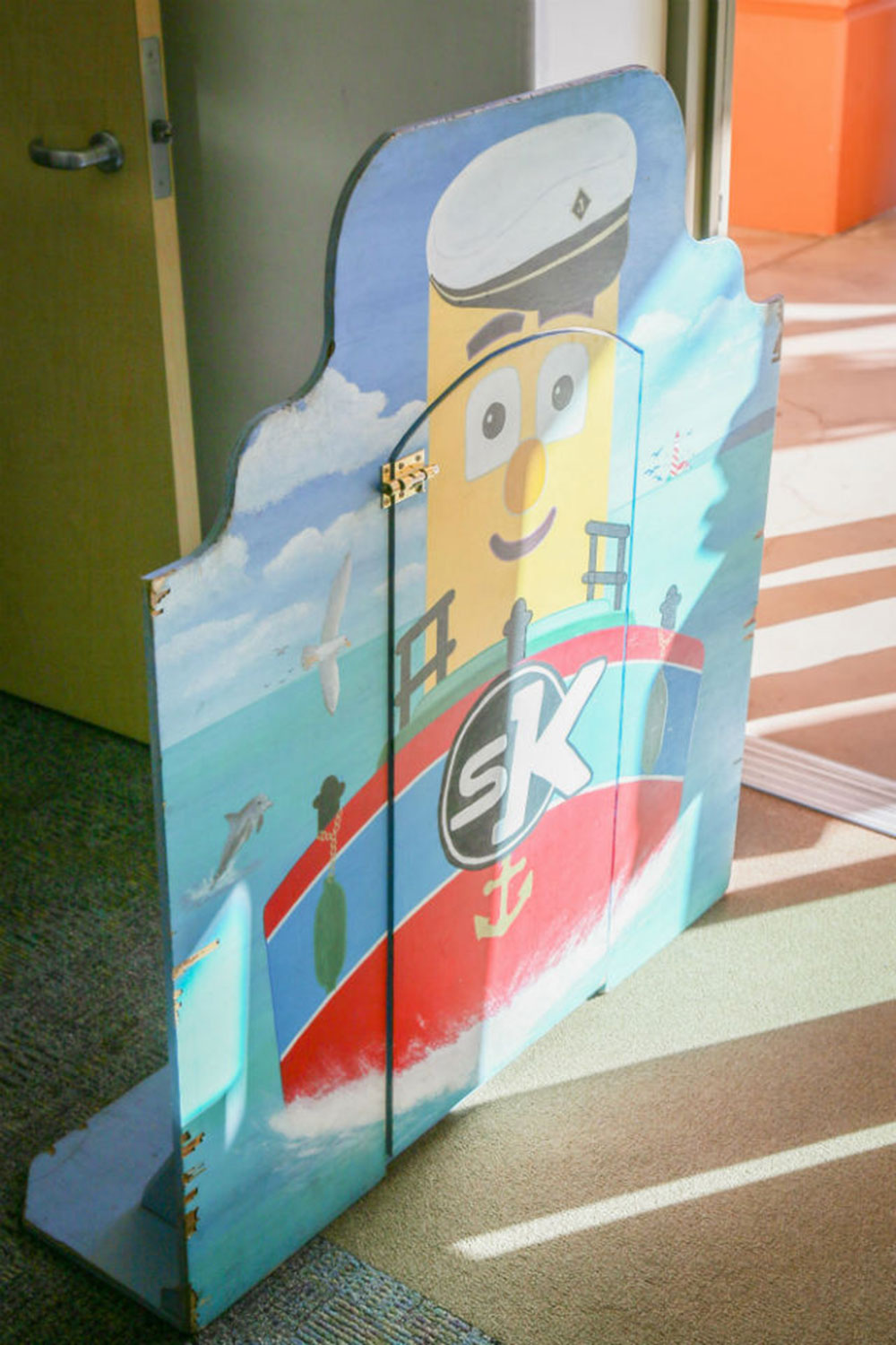 Preschool size door