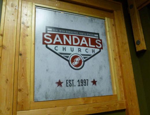 Sandals Church Tour
